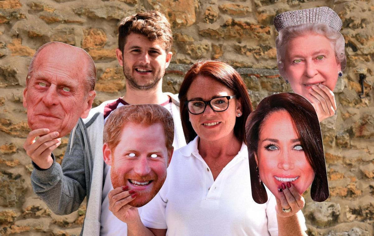 Firm's Royal wedding masks sent around the world