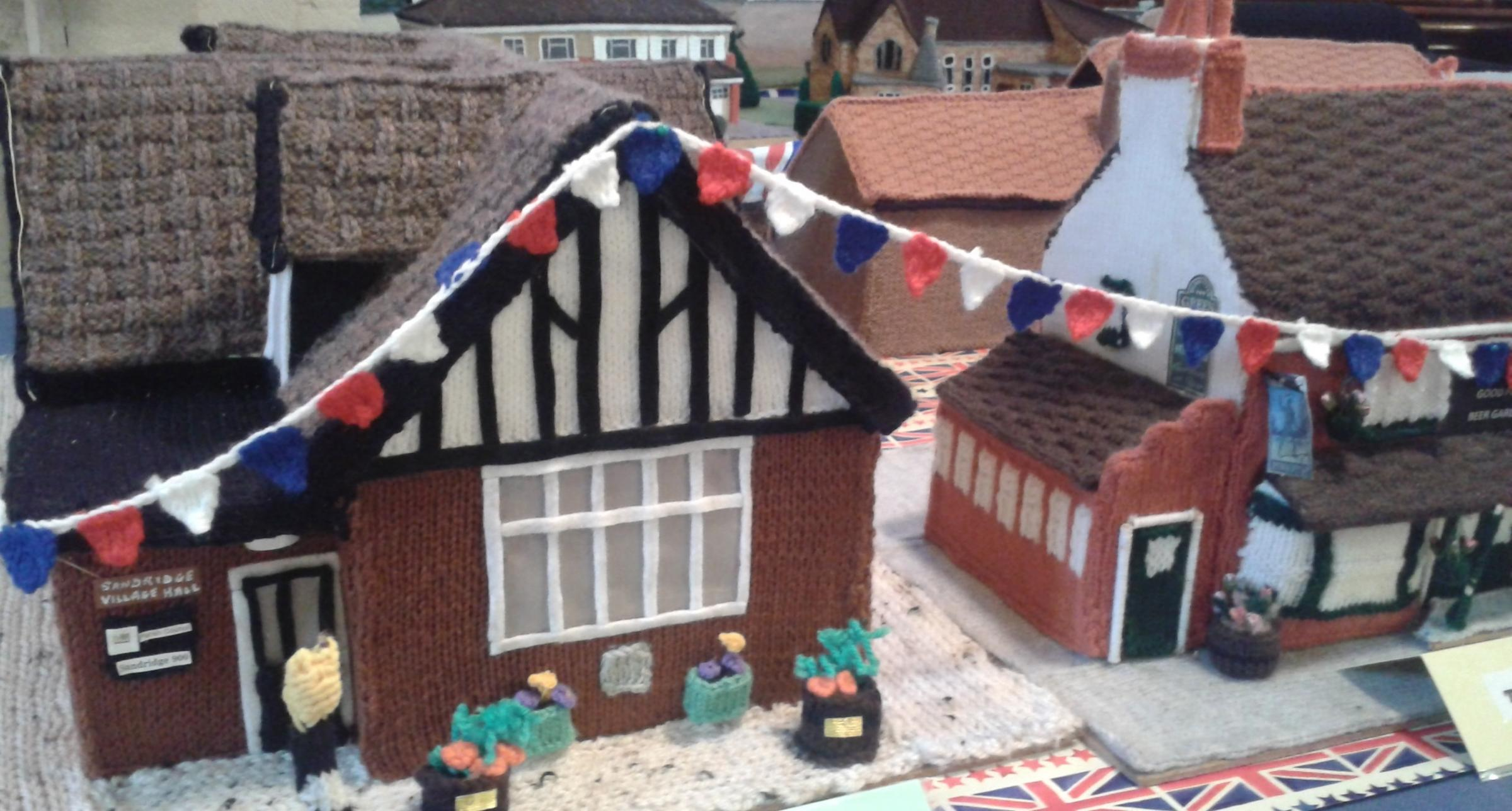The knitted village will be on show at the St Leonard's Church summer fete on Sunday June 24.