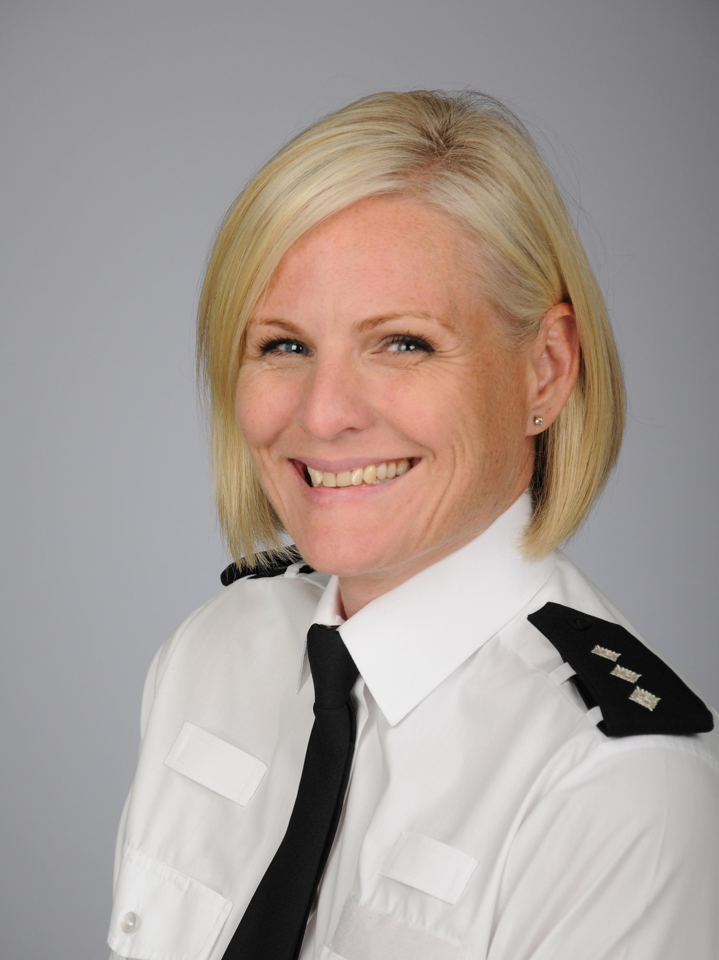 Chief Inspector Lynda Coates