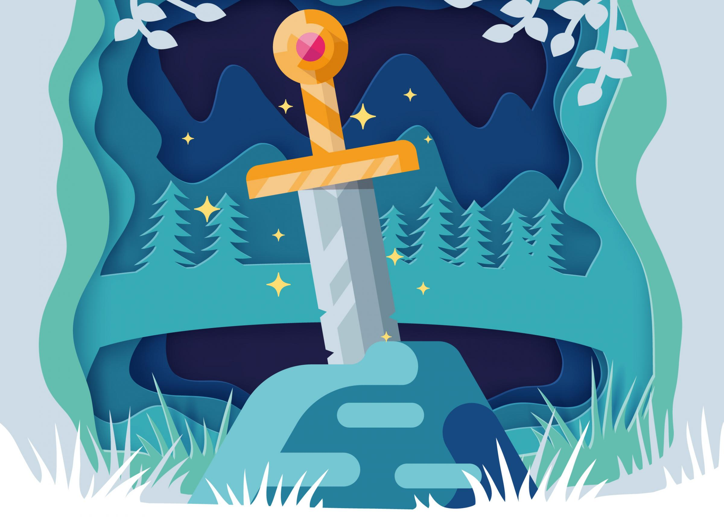 Panto: The Sword in the Stone at Queens Park Arts Centre