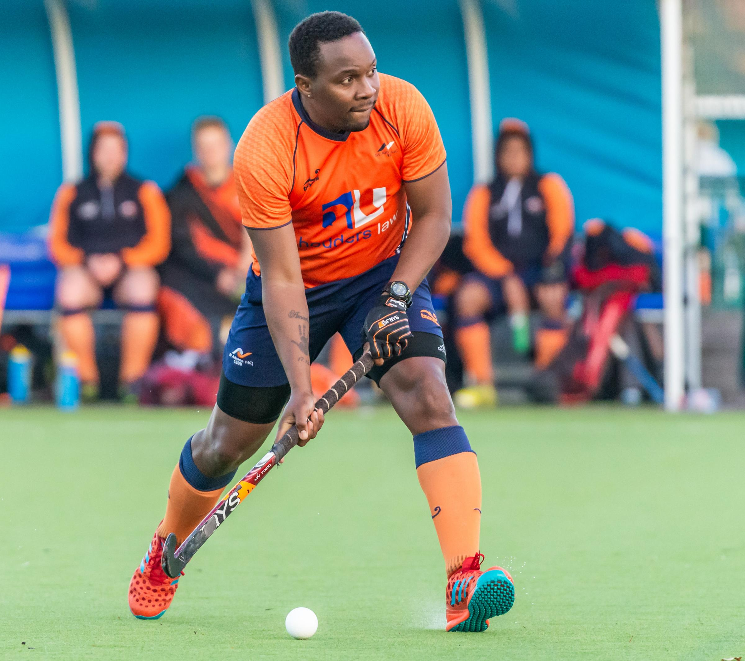 Dillet Gilkes was on target for St Albans. Picture: Chris Hobson Photography