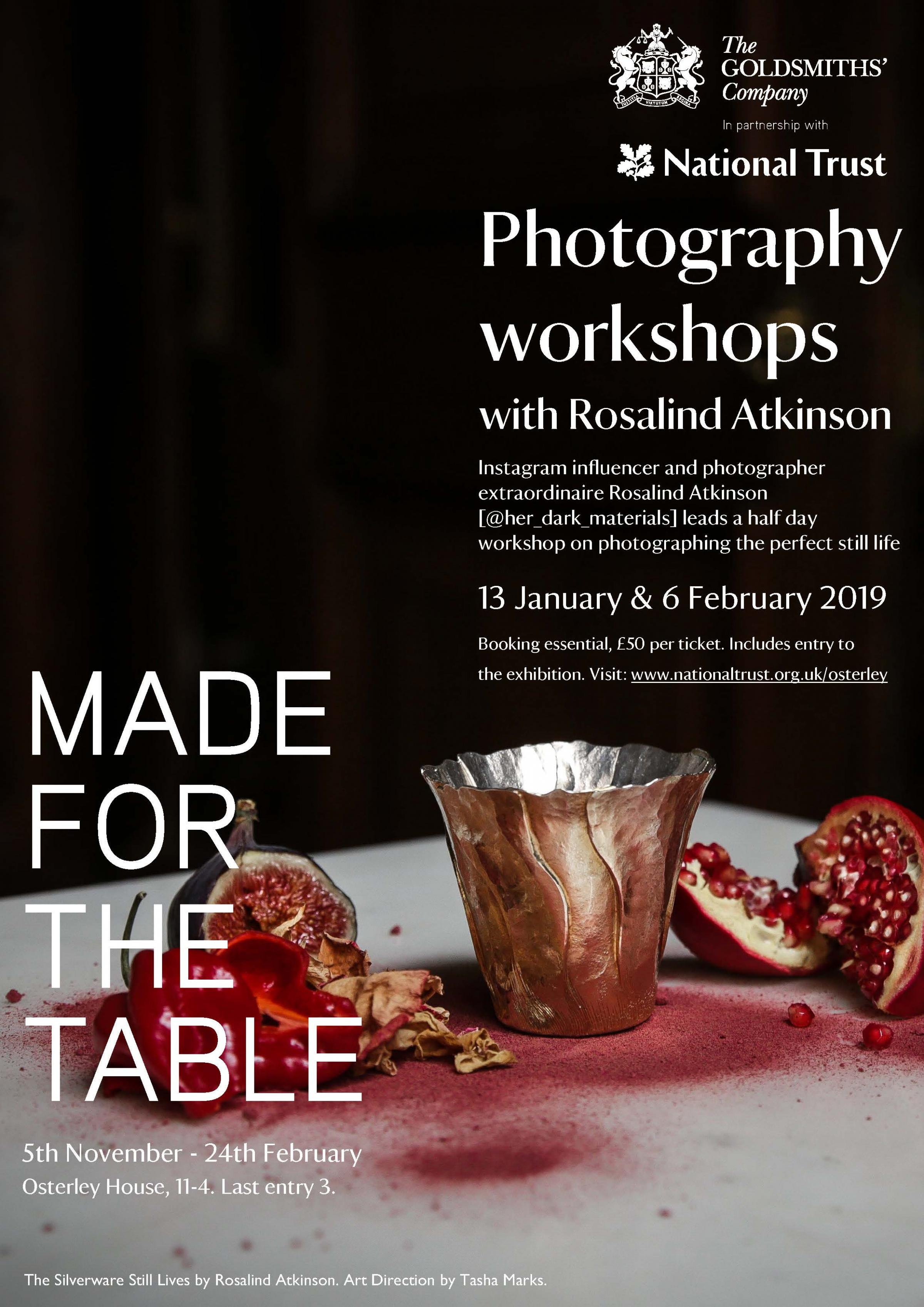 Photography Workshops with Rosalind Atkinson