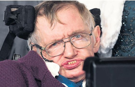 Professor Stephen Hawking died in March