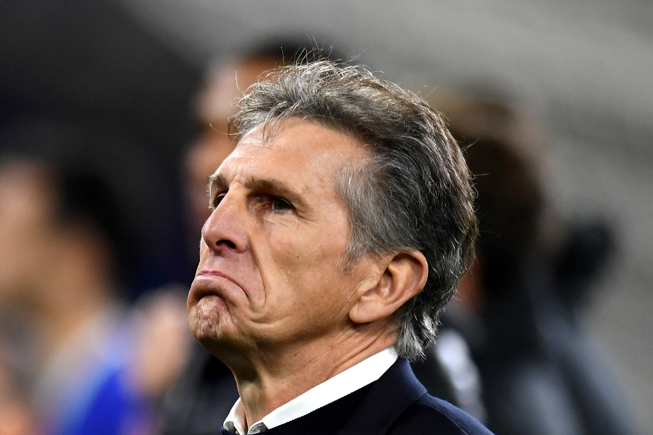 Claude Puel's position seems under constant scrutiny