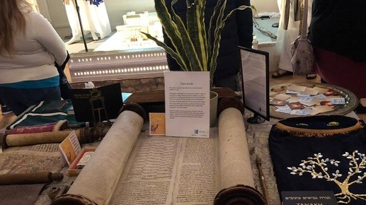 An exhibit at the Bible Comes to Life exhibition