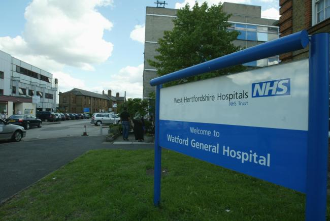 The NHS trust which runs Watford General Hospital reported two Covid-19 deaths today.