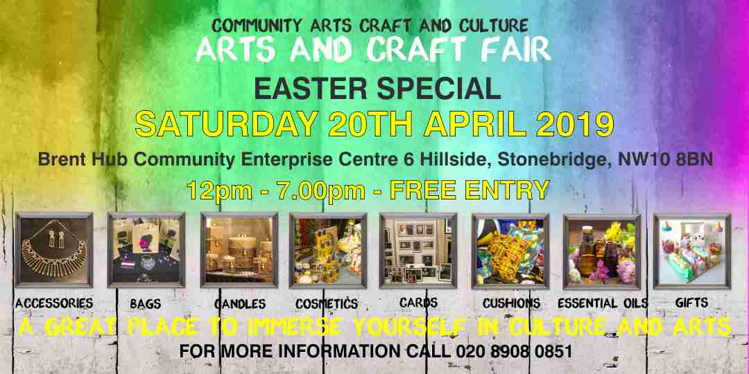 Community Arts & Craft Fair – EASTER SPECIAL