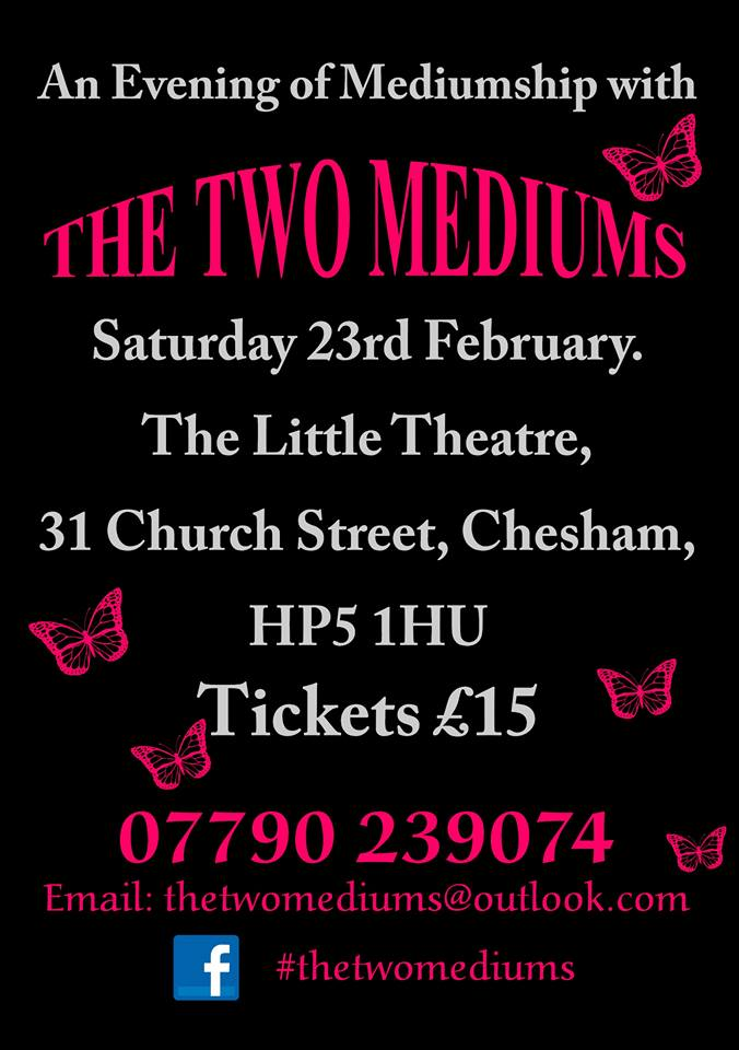 An Evening of Mediumship with The Two Mediums