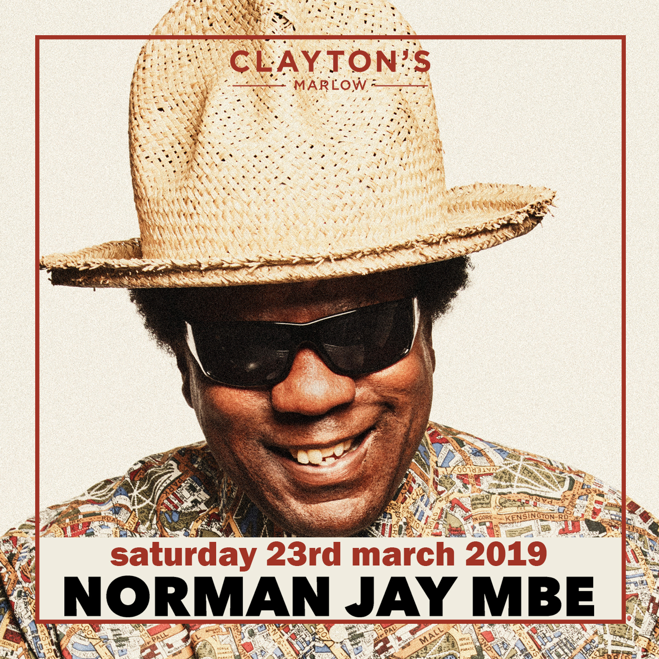 Clayton's Marlow Presents DJ Norman Jay MBE