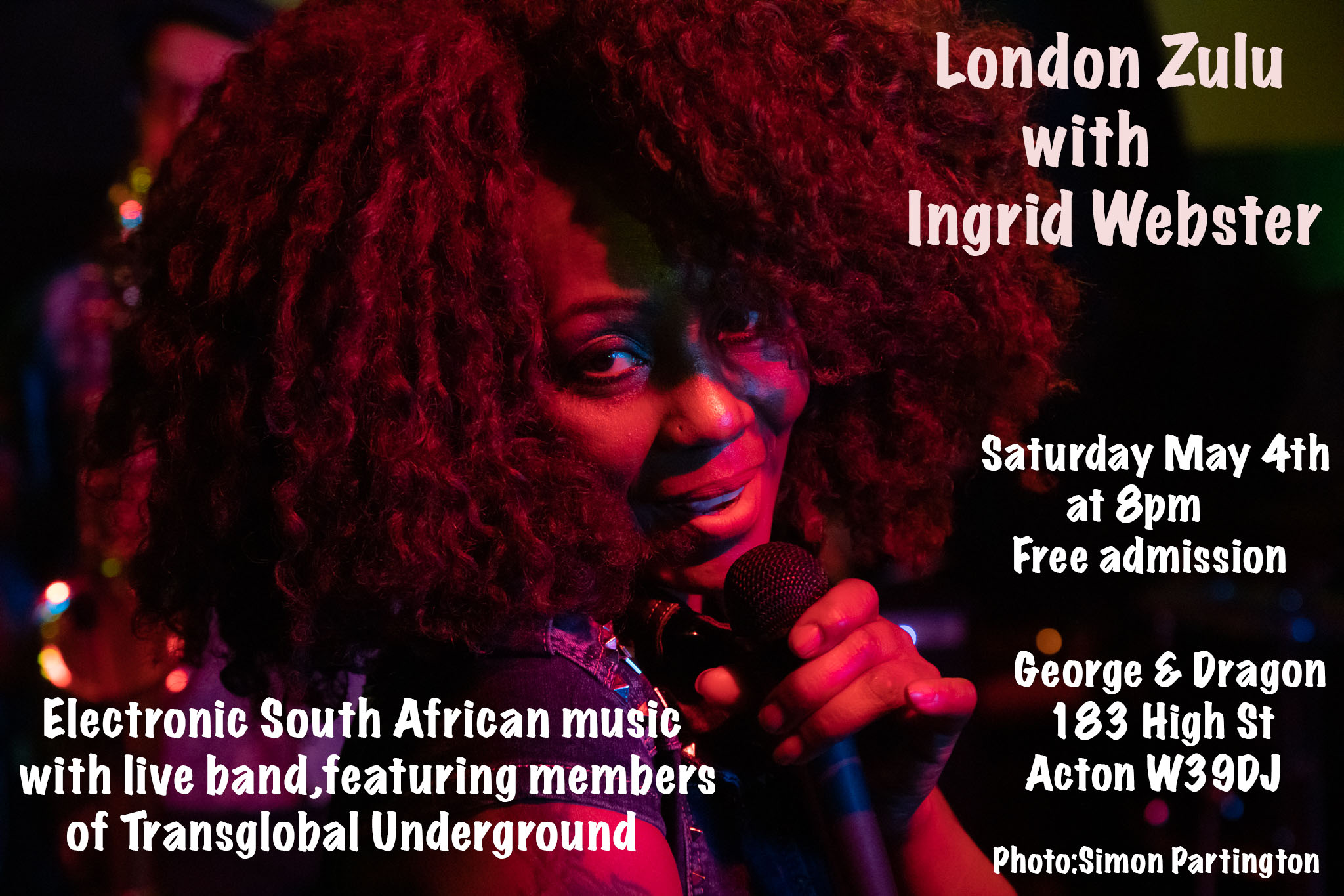 London Zulu feat. Ingrid Webster and members of Transglobal Underground