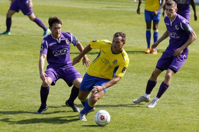 Ben Herd playing for St Albans City. Picture: Leigh Page