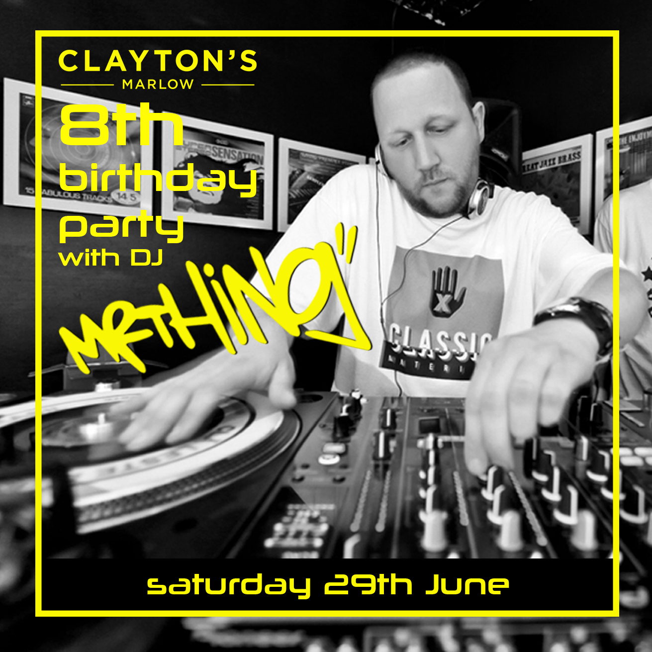 Clayton's Marlow Presents DJ Mr Thing